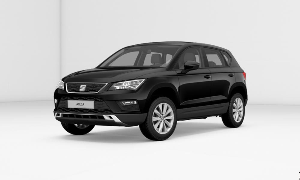 seat ateca style 1 6 tdi ecomotive f r 102 leasing. Black Bedroom Furniture Sets. Home Design Ideas