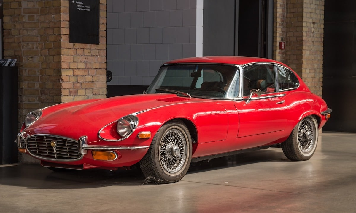 jaguar e-type im leasing