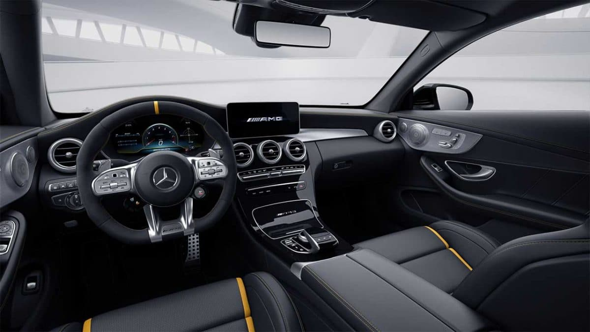 mercedes amg coupe c63 leasing