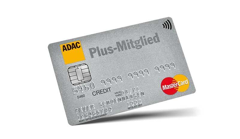 adac silber kreditkarte tanken