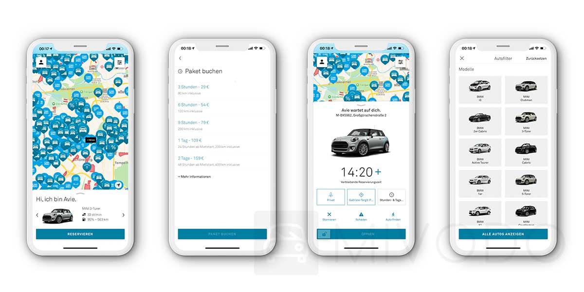 drivenow app test