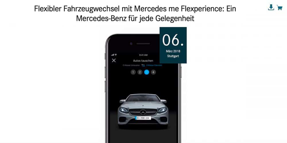 mercedes me flexpierence abo