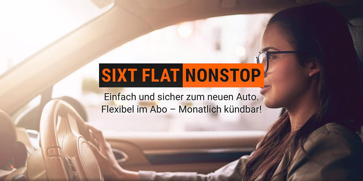 Sixt nonstop flat