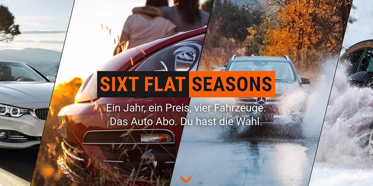 Sixt Flat Seasons