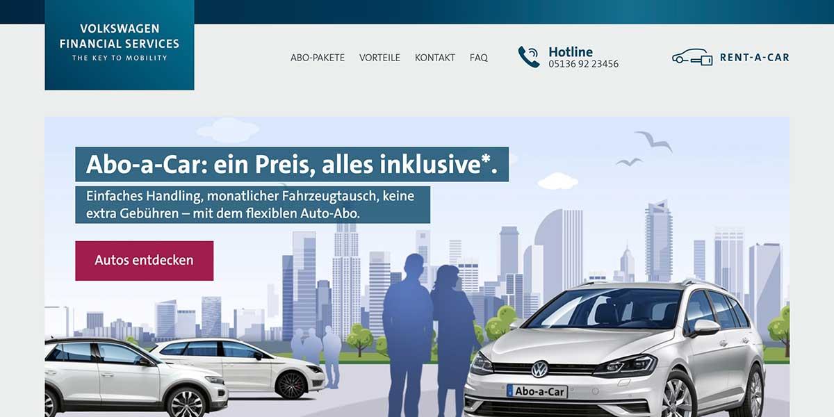 abo-a-car volkswagen financial services
