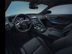 jaguar f-type 2020 Interieur