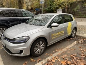 VW WeShare eGolf