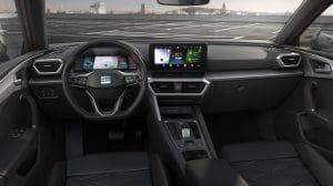 seat Leon 2020 interieur infotainment