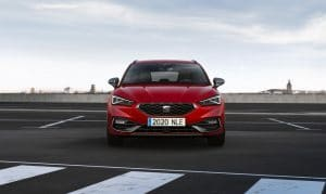 seat Leon st fr 2020 desire red front