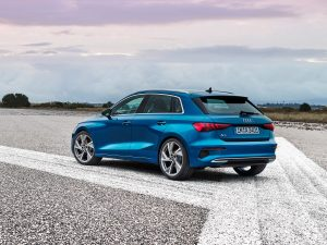Audi A3 Sportback Design Heck