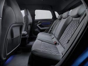 Audi A3 Sportback 2020 Platz hinten