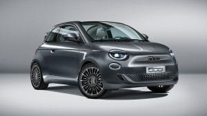 Fiat 500e im neuen Design