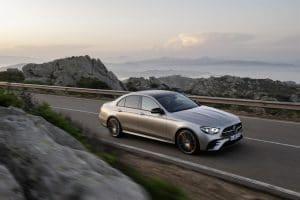 Mercedes-Benz E-Klasse 2020 MOPF Front Seitenansicht Exterieur