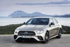 Mercedes E-Klasse Facelift 2020 Exterieur Frontansicht