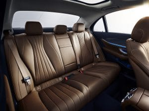 Mercedes E-Klasse MoPf 2020 Interieur Fondsitze