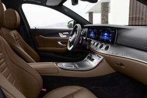 Mercedes E-Klasse MoPf 2020 Interieur MBUX