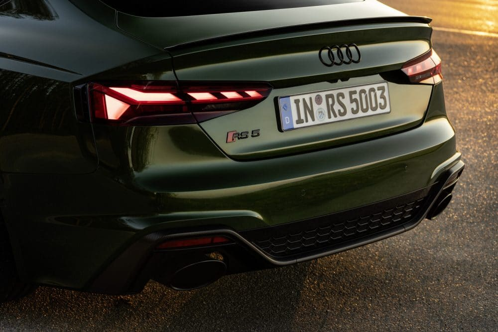 Audi RS5 Facelift Rücklichter