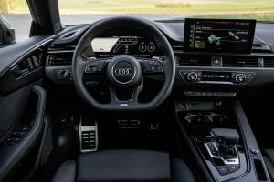 Lenkrad im RS5 Facelift 2020