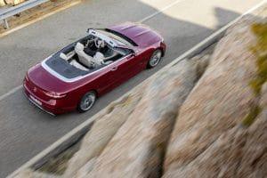 E Cabrio Facelift 2020 dach offen