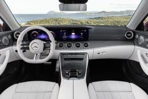 E Cabrio Interieur Facelift 2020