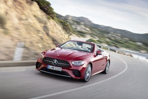 Mercedes E-Klasse Cabrio Facelift 2020