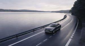 Volvo S90 T8 mit Tempolimit bei 180 km/h