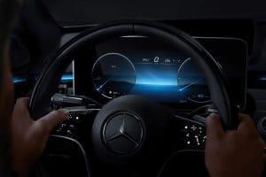 Mercedes-Benz NTG 7 Anzeigestil Dezent