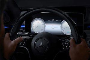 Mercedes-Benz My MBUX Anzeigestil Exklusiv