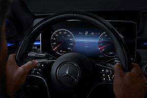 Mercedes-Benz My MBUX Anzeigestil Klassisch