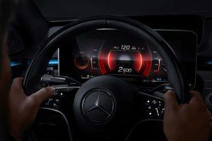 Mercedes-Benz NTG 7 Anzeigestil Sportlich