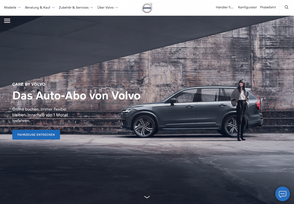 care by volvo auto abo