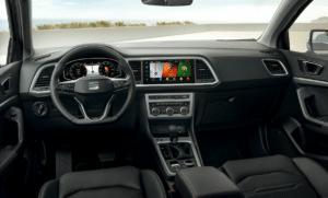 Der neue Ateca verfügt über ein neues Infotainment-System | Copyright Seat