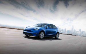 Tesla Model Y Copyright Tesla