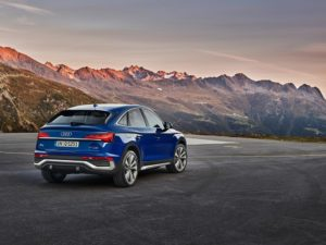 Audi Q5 Sportback Heckansicht
