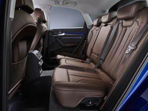 Rückbank im SUV-Coupé von Audi