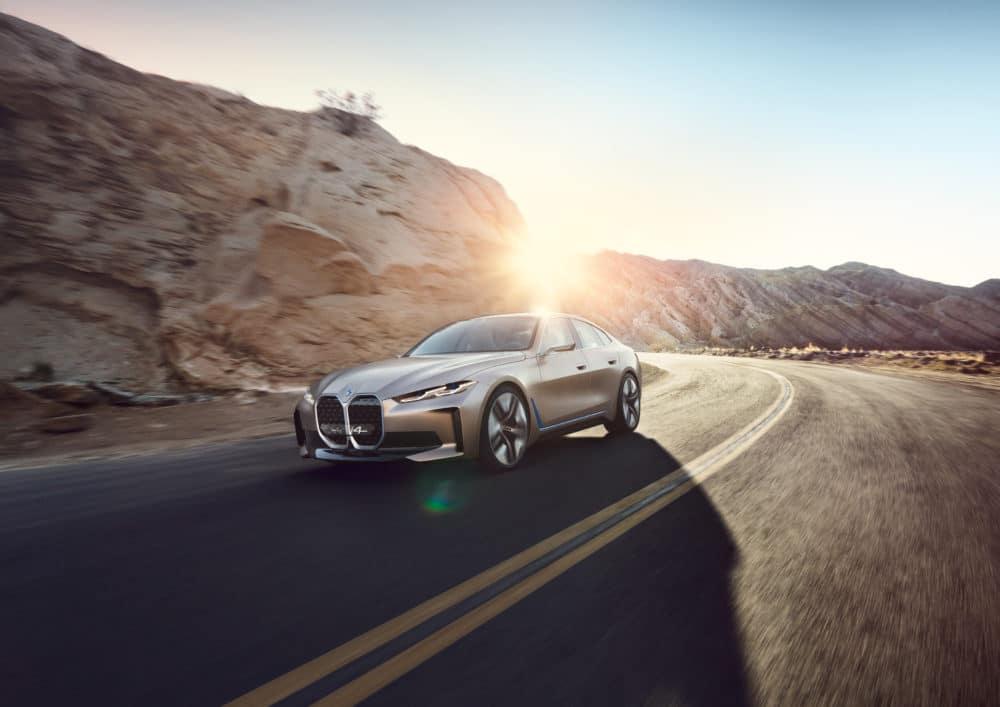 BMW i4 Concept E-Auto Copyright BMW