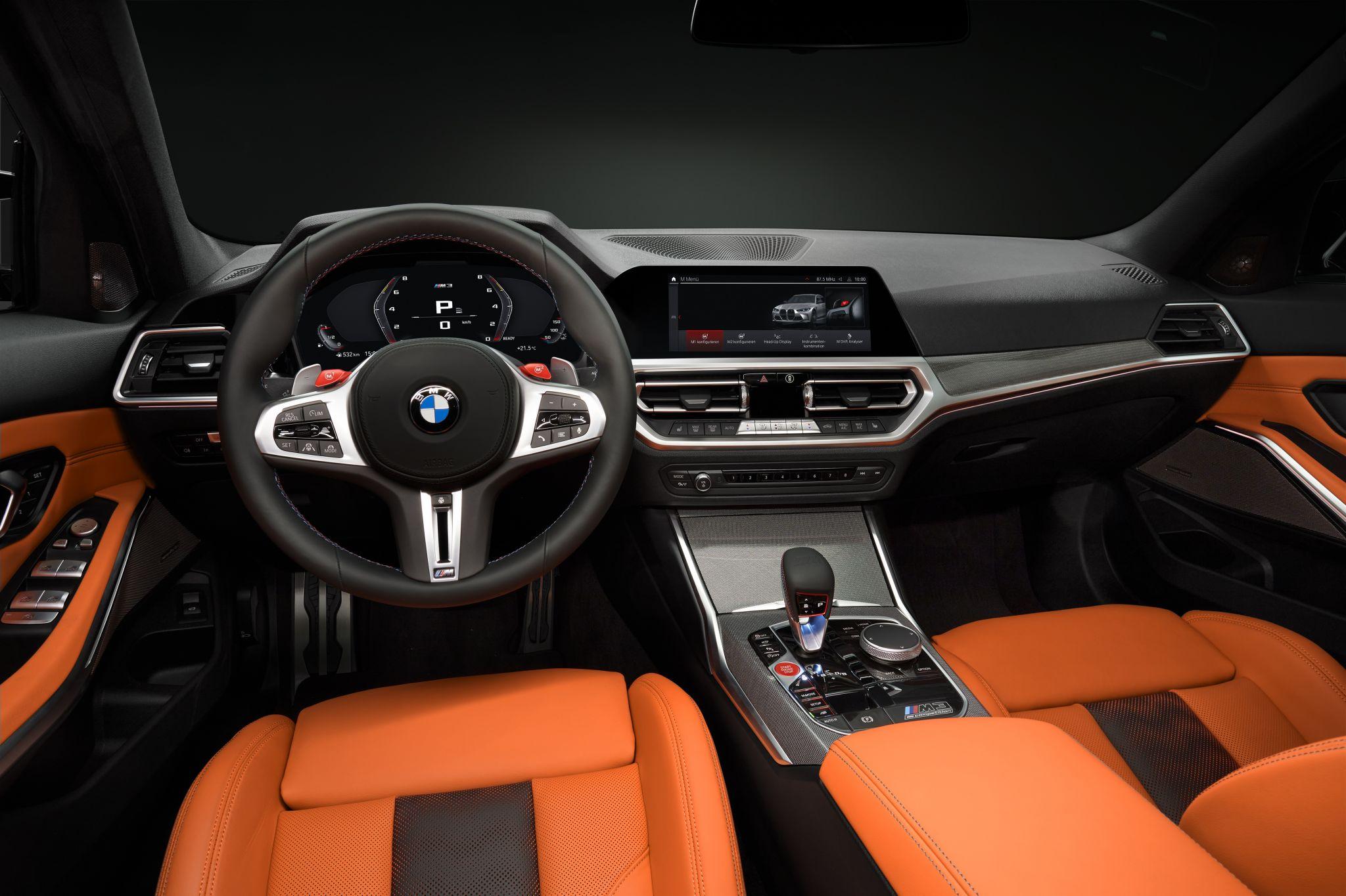 BMW M3 Interieur