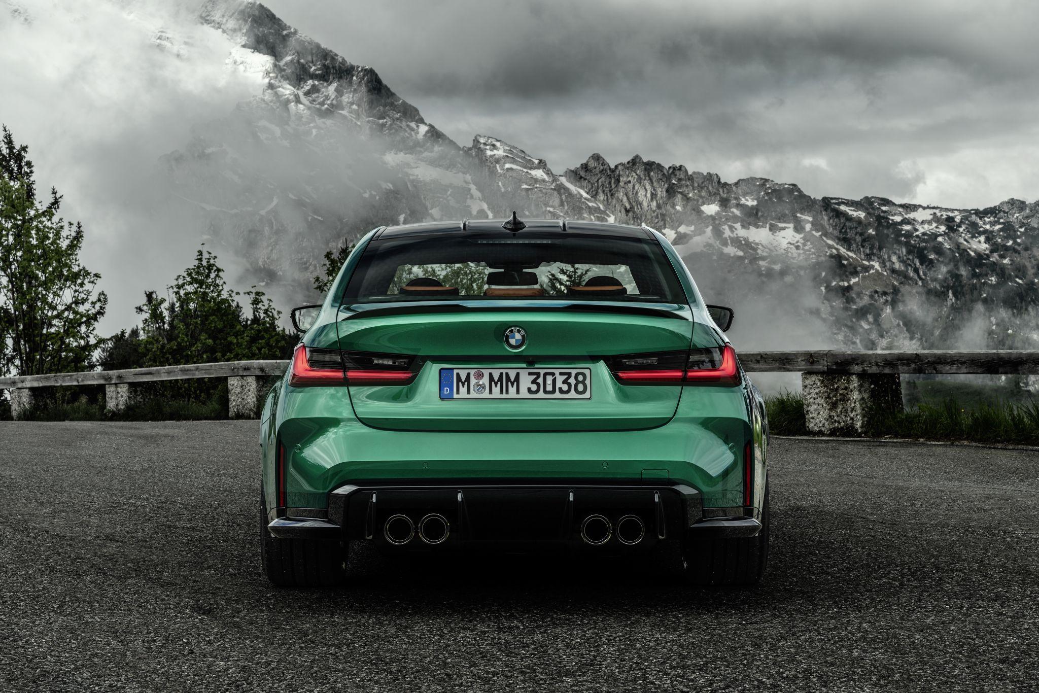 BMW M3 G80 Heck