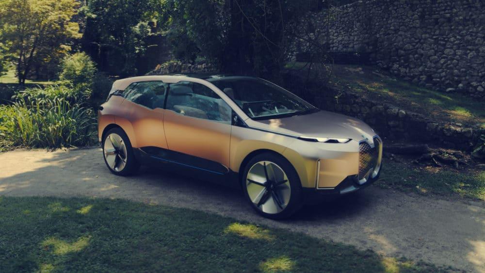 BMW iNext Concept E-Auto Copyright BMW