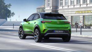 Opel Mokka-e Heckansicht