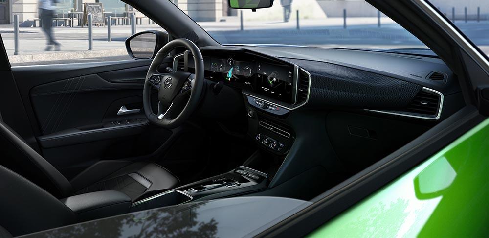 Innenraum im neuen Opel Mokka
