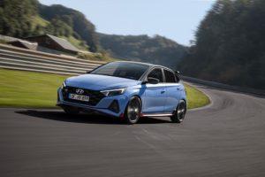 Hyundai i20 N in Performance Blue