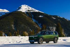Rivian R1S elektrischer Abenteuer-SUV Copyright Rivian