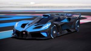 Bugatti Bolide Frontansicht