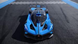 X-Scheinwerfer Bugatti