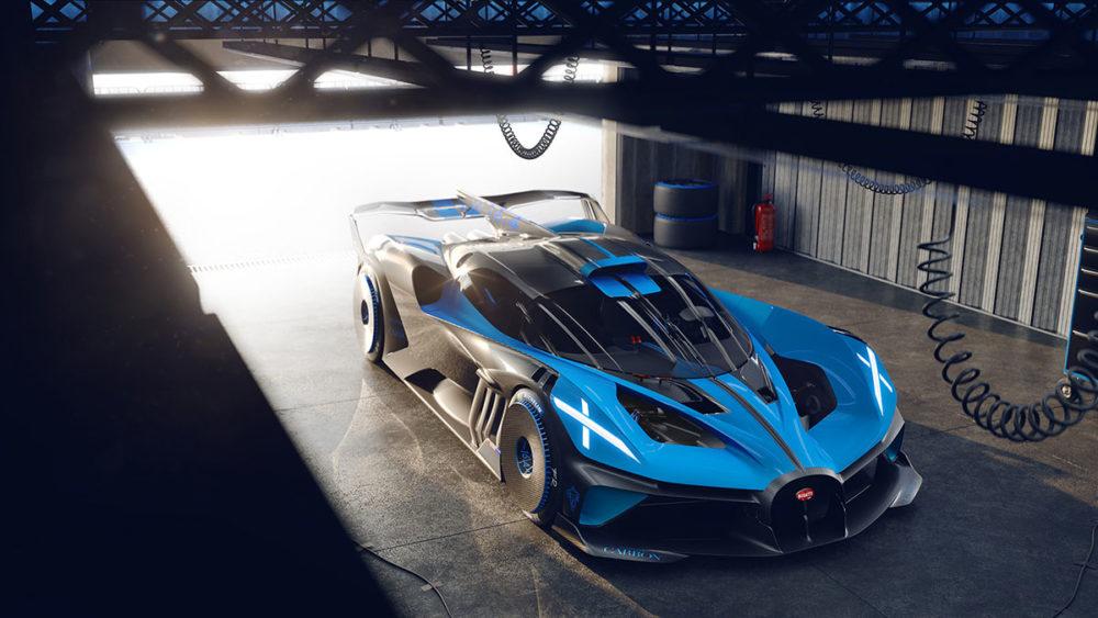 Bugatti Bolide mit 1.850 PS