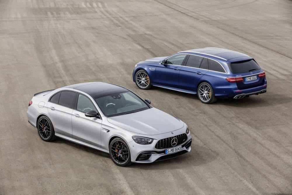 Mercedes-AMG E 63 S Limousine und T-Modell Facelift 2020