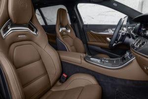 Braunes Leder E 63 S Facelift 2020