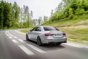 Mercedes-AMG E 63 S Limousine Heck Design Facelift 2020