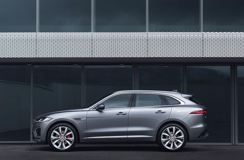 jaguar f-pace 2021: mehr elektro, luxus und digtal - mivodo